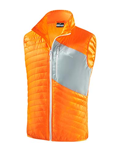 Black Crevice Insulated mouwloos vest voor heren, microlight Iso vest