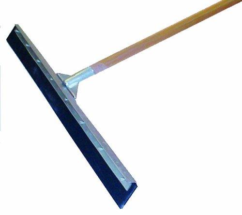 MARSHALLTOWN Asphalt Squeegee 36' Straight Blade Floor 60' Wood Handle