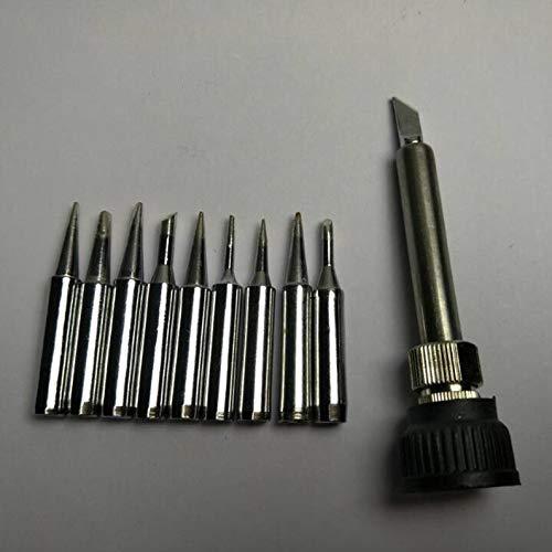 ukYukiko - Juego de 10 piezas de soldadura sin plomo 900M-T para 936 SAIKE ATTEN
