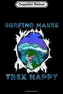 t rex surfing