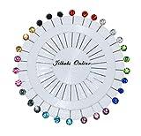 hijab pins mullti colores en una rueda, hiyab y accesorios suministros, sastre para hacer vestidos, alfileres, jilbabs online