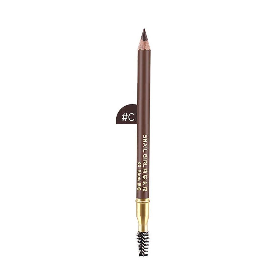 結婚式クロスはず化粧品の眉毛の鉛筆の防水自然で長続きがする眉ライナーの構造
