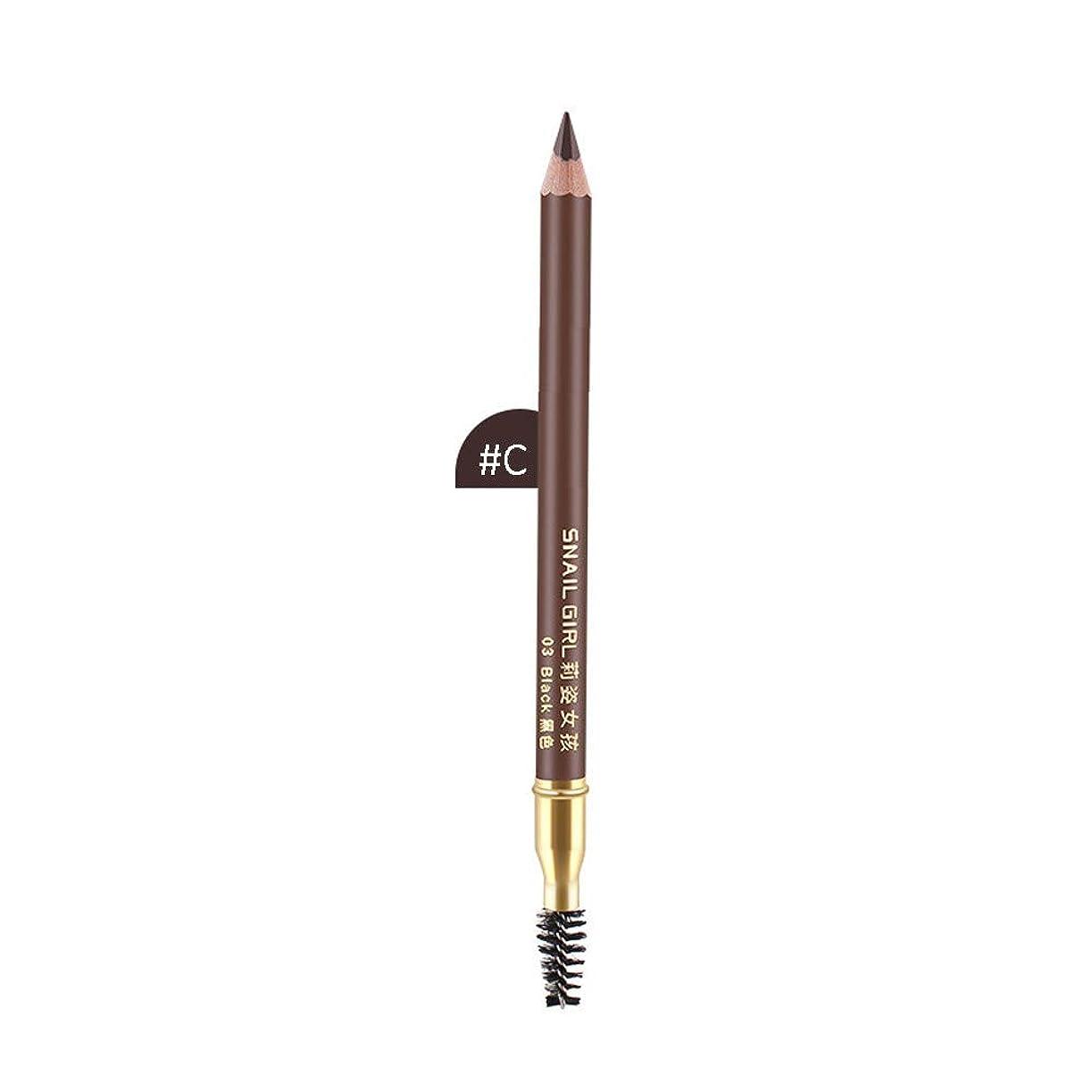 チャンスシングル接地化粧品の眉毛の鉛筆の防水自然で長続きがする眉ライナーの構造