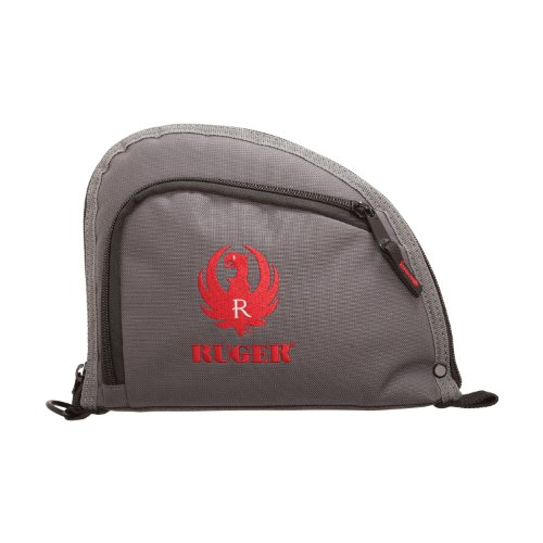 Allen One Pocket 9 Auto-Fit Handgun Case, Gray Ruger