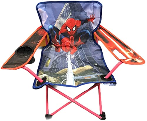 just 4 baby Kids Children Folding Foldable Picnic Beach Camping Garden Fishing Chair 3-8y (Spiderman Portable Chair)