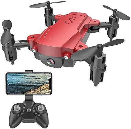 aipipl 2.4G 4K HD Micro Pocket Drones Cámara para Adultos, WiFi FPV Plegable RC Quadcopter 1080P para Principiantes Modo de Seguimiento de altitud Modo sin Cabeza Despegue/Aterrizaje de una tecla