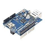 W5100 Ethernet Network Shield W5100 Ethernet Expansion Board mit SD Card Slot für Arduino UNO...
