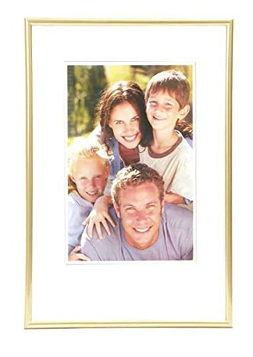 discountoase Moderne Kunststoff Bilderrahmen Fotorahmen 9x13 bis 40x50 cm versch. Farben (20x30, Gold)