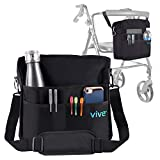 Vive Rollator Bag - Universal Travel Tote for Carrying Accessories on...