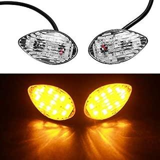 VOFONO 2 Pack LED Turn Signal Lights Fit Honda CBR 600RR 600 F3 F4i 1000RR