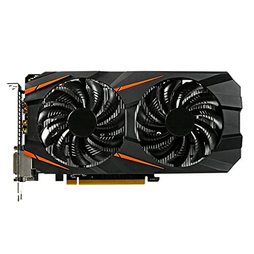 Scheda Video Fit for Gigabyte GTX 1060 da 3 GB Schede grafiche NVIDIA GTX1060 da 3 GB GPU Desktop PC Gioco per Computer Schede grafiche da Gioco VGA GTX 750 960 Ti