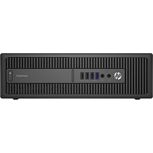 HP EliteDesk 800 G1 - Ordenador de sobremesa (Intel Core i5-4570, 16GB de RAM, Disco SSD de 480GB, Sin lector, Windows 10 Pro ES 64) - Negro (Reacondicionado)