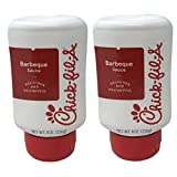 Chick-Fil-A Sauce 8 oz. Squeeze Bottle 2 Pack- Resealable Container for Dipping, Drizzling, and...
