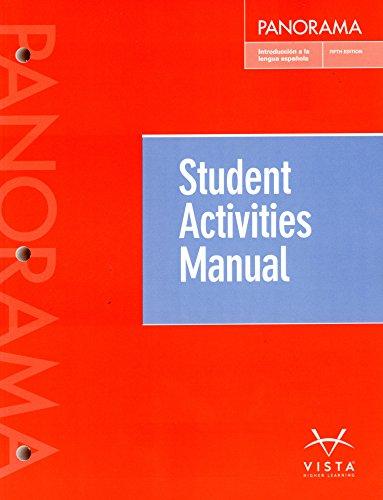 Panorama 5th Student Activities Manual