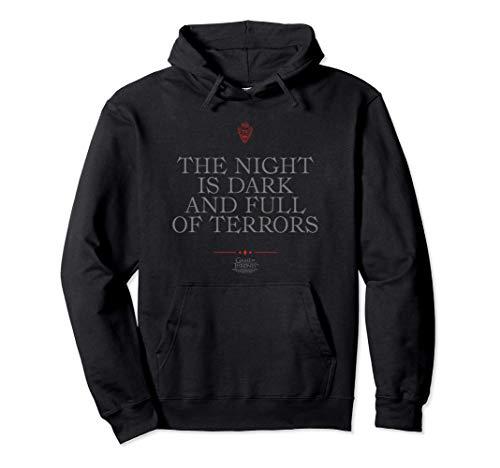 Game of Thrones Night is Dark Pullover Hoodie
