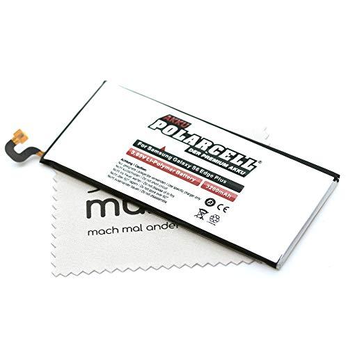Batería de repuesto para Samsung Galaxy S6 Edge Plus (G928F) (sustituye a la batería original EB-BG928ABE) Polarcell con paño de limpieza de pantalla Mungoo