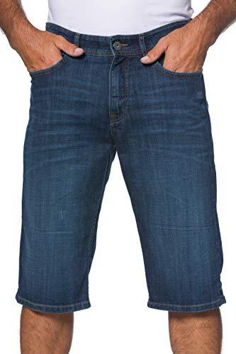 JP 1880 Herren große Größen bis 66, Jeans-Bermuda, Denim-Shorts, Kurze Hose, Stretch, Regular Fit & 5-Pocket, Baumwolle Blue 60 702206 92-60