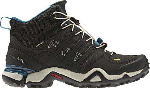 Adidas Terrex Fast R Mediana GTX Boot - Sã³Lido Gris/Negro/Teal Vivid 10
