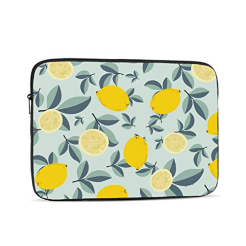 13 Macbook Case Cute Bright Fresh Lemon Macbook Pro 2016 Case Multi-Color & Size Choices10/12/13/15/17 Inch Computer Tablet Briefcase Carrying Bag