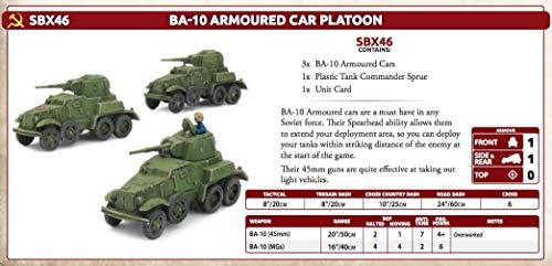 Flames of War: Mid War: Soviet: BA-10 Armored Car Platoon (SBX46)