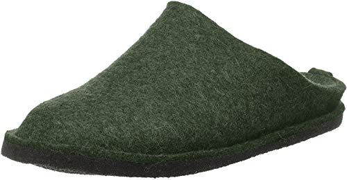 Haflinger Flair Soft, Zapatillas De Estar Por Casa Unisex adulto, Verde (Eibe 35), 49 Eu