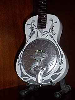 Mini Guitarra DIRE STRAITS MARK KNOPFLER Resonator Figurilla Presente