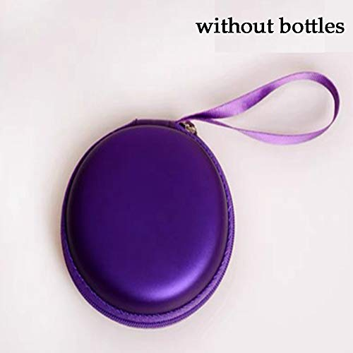 DUCHEN Petit sac de rangement compact pour huiles essentielles, aromathérapie, maquillage, cosmétique, pour voyage, huile de bébé, parfum