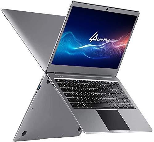 LincPlus P2 Ordinateur Portable,14'' Windows 10 S 4 Go RAM 64 Go eMMC Netbook, 1080P Full HD IPS Intel Celeron N3350, Clavier Français AZERTY