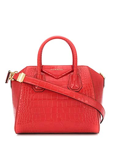 Luxury Fashion | Givenchy Dames BB500CB0LK600 Rood Leer Handtassen | Lente-zomer 20