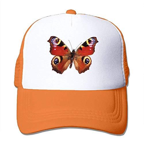 dfegyfr Red Butterfly Adjustable Sports Mesh Baseball Kappen Trucker Cap Sun Hats Design8