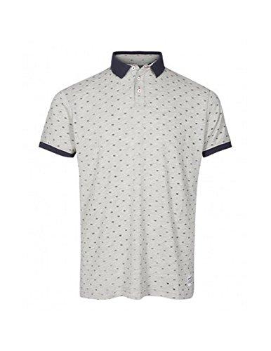 !Solid Herren Poloshirt Montego, 6184104, Grau, 6184104 XL