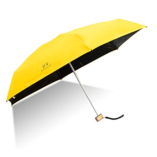 Orgen Lightweight Small Umbrella Parasol Collapsible Mini Umbrella Pocket Size Ultra Light Anti-UV