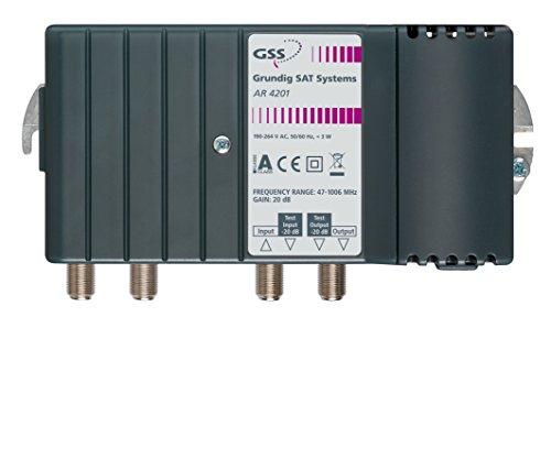 GRUNDIG AR 4201TV–TV-Signal-Verstärker (F-Signal-Verstärker, 3W, 190–264,-25–55°C, 170x 90x 65mm, 750g)