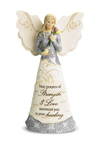 Pavilion Gift Company 82348 Strength and Healing Angel fig塑像,6-1/2英寸