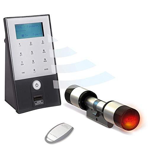 Burg Wächter 5702 Secuentry Elektronisches Türschloss mit Fingerabdruck