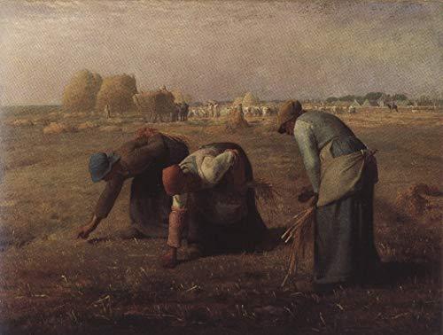 335 Jean Francois Millet De tenoning 1857 - Film Film Poster - Beste Print Kunst Reproductie Kwaliteit Wanddecoratie Gift Poster A2
