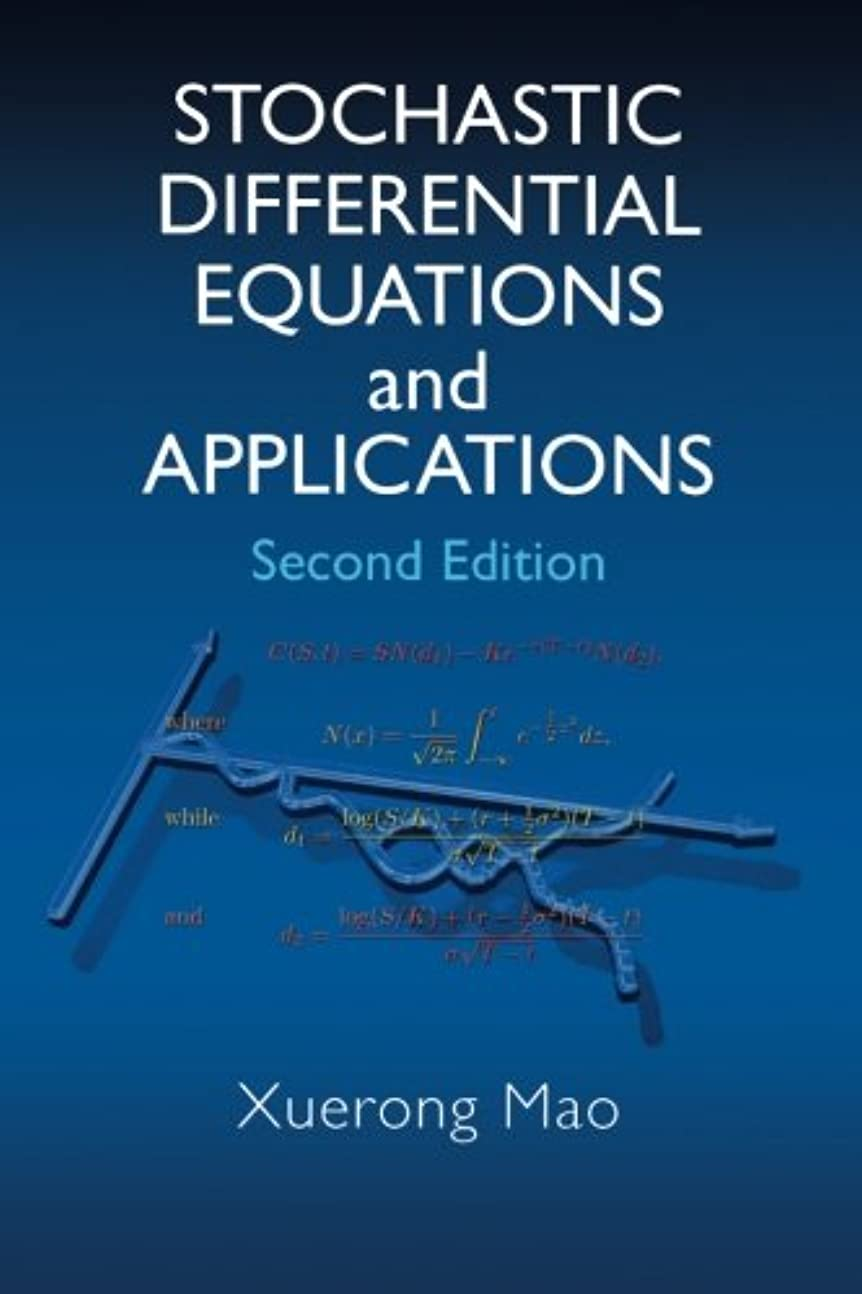 三角形転倒治安判事Stochastic Differential Equations and Applications, Second Edition