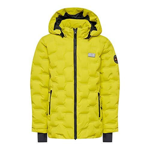 Lego Wear Jungen Lego Unisex LWJORDAN 713-Winterjacke Jacke, Gelb (Yellow 215), (Herstellergröße:128)