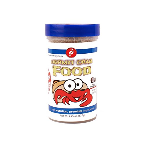 HBH Pisces Pros Variety Bites Hermit Crab Food - Hermit Crabs Need A Nutritious Diet to Ensure Lively Behavior and Growth - Our Live Hermit Crab Food Contains Vitamin Enriched Ingredients (2.25 oz)