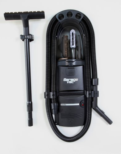 GarageVac GH120-E Black Wall Mounted Garage Vacuum...