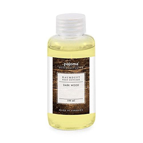 Raumduft Nachfüllflasche 100ml pajoma Duftöl für Diffuser Duft wählbar (Dark Wood)