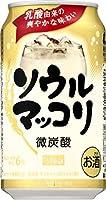 ソウルマッコリ [缶] 350ml x 48本 ≪2ケース≫[ケース販売][チューハイ/缶チューハイ/6度/大韓民国/サントリー]