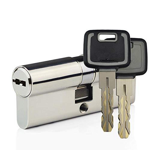 Lock Pad Lock C-Level Lock with 360 Degree idling Lock core 304 Stainless Steel Anti-Theft Door Lock cylinder-45 + 45 = 90