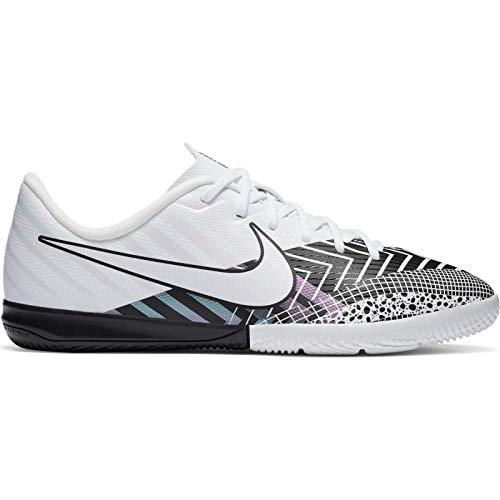Nike Vapor 13 Academy MDS IC Fußballschuh, White/White-Black, 39 EU