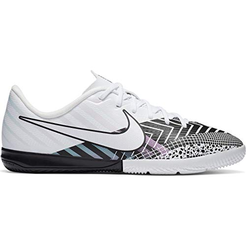 Nike Vapor 13 Academy MDS IC, Zapatillas de fútbol, Blanco, Negro, 36 EU