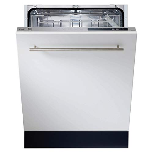 Sharp QW-DGS492X-EN Built-In Dishwasher with Super Active Drying and...