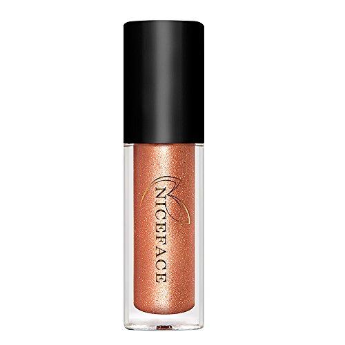 Les femmes de longue durée métallique de rouge à lèvres liquide brillant à lèvres beauté cosmétique fournitures A