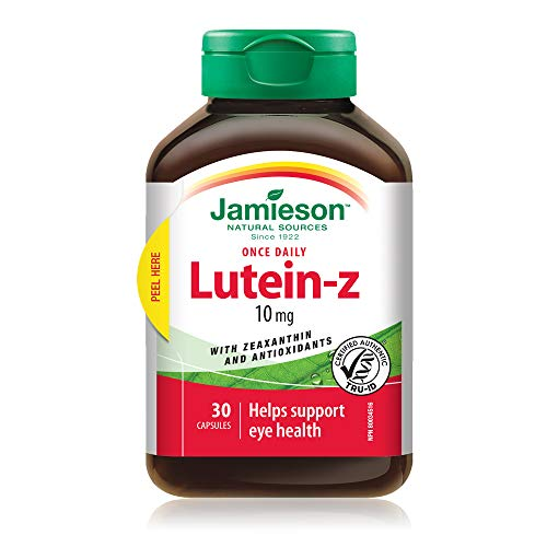 Jamieson Lutein Z 30 Cps  20 Gr