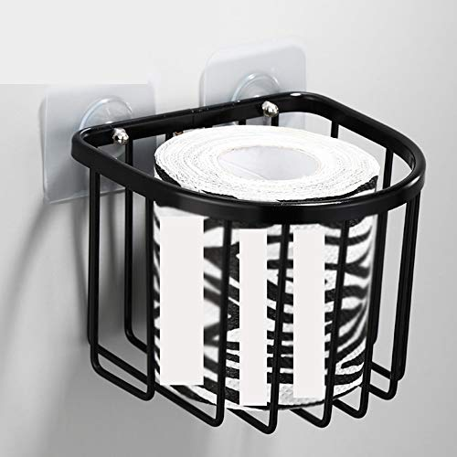 Xiangxiang Zwarte Badkamer Rack Toilet Toilet Wastafel Wandopslag Bad Gratis Punch Wandmontage Toilet