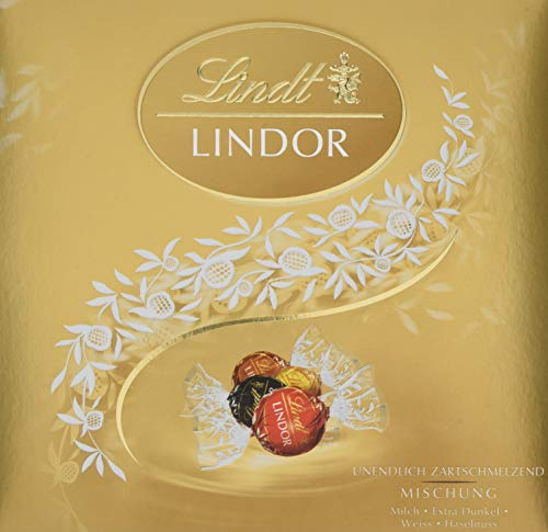 Lindt Lindor Präsent Mischung, 187 g